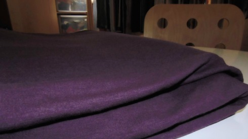 Amethyst Color - Bamboo/Organic Cotton Jersey